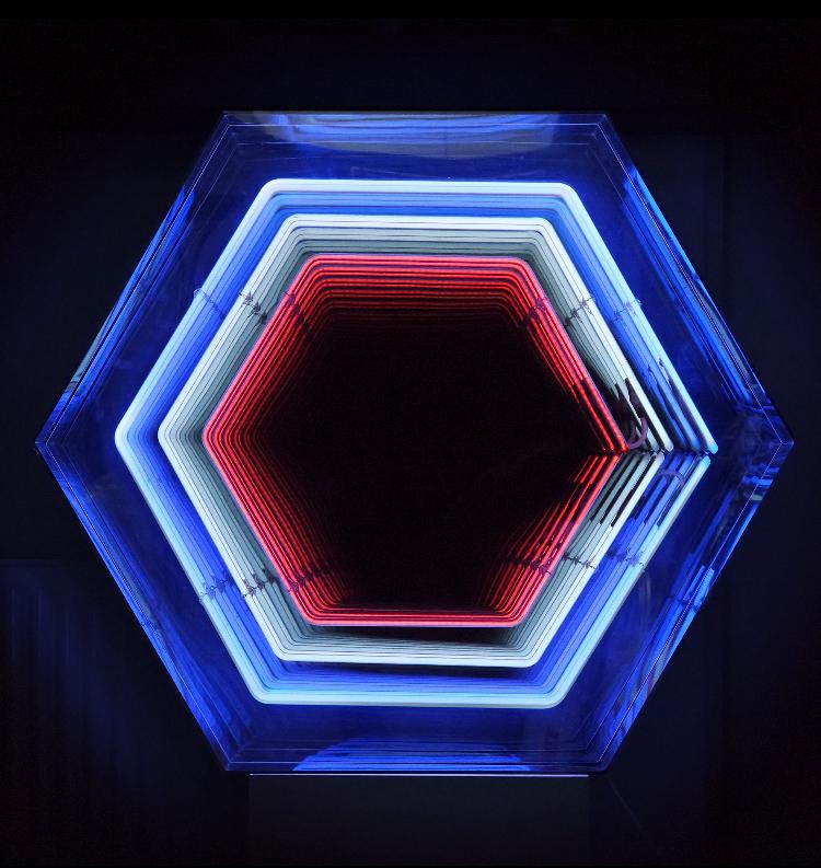 Falcone - Infinity Hexagone Bleu Blanc Rouge