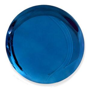 Jérémy Laval Artiste   Deep royal Blue bleu   Silver mirror Kapoor   Leasing d'oeuvres d'art   Art avantage