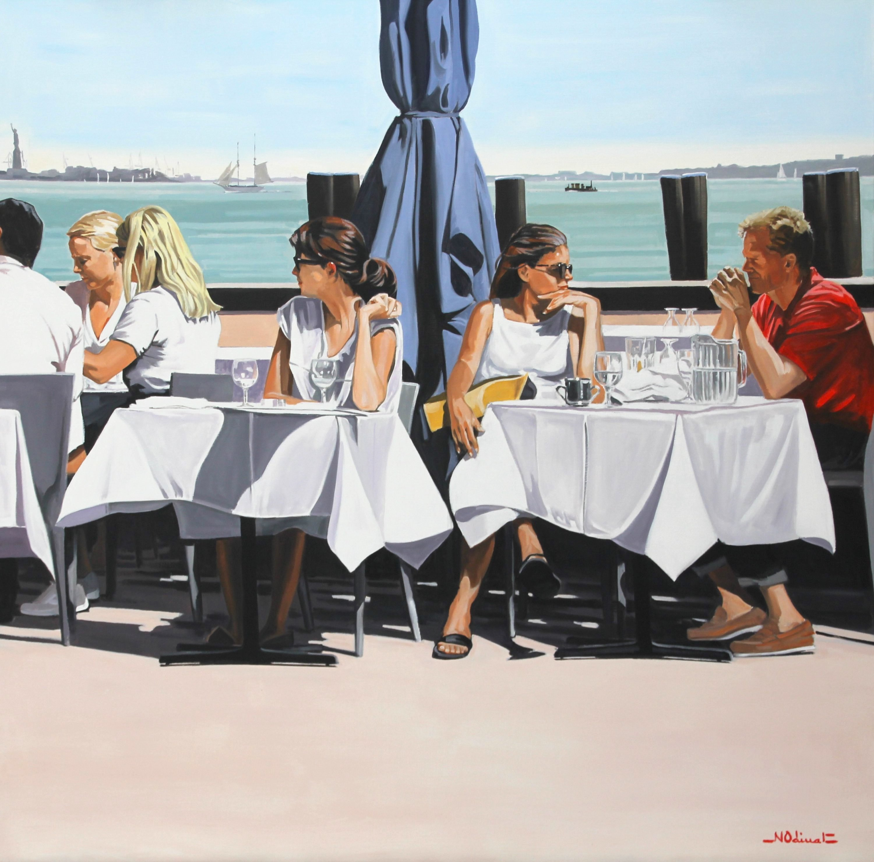 Nicolas Odinet - Lunch in the sunshine