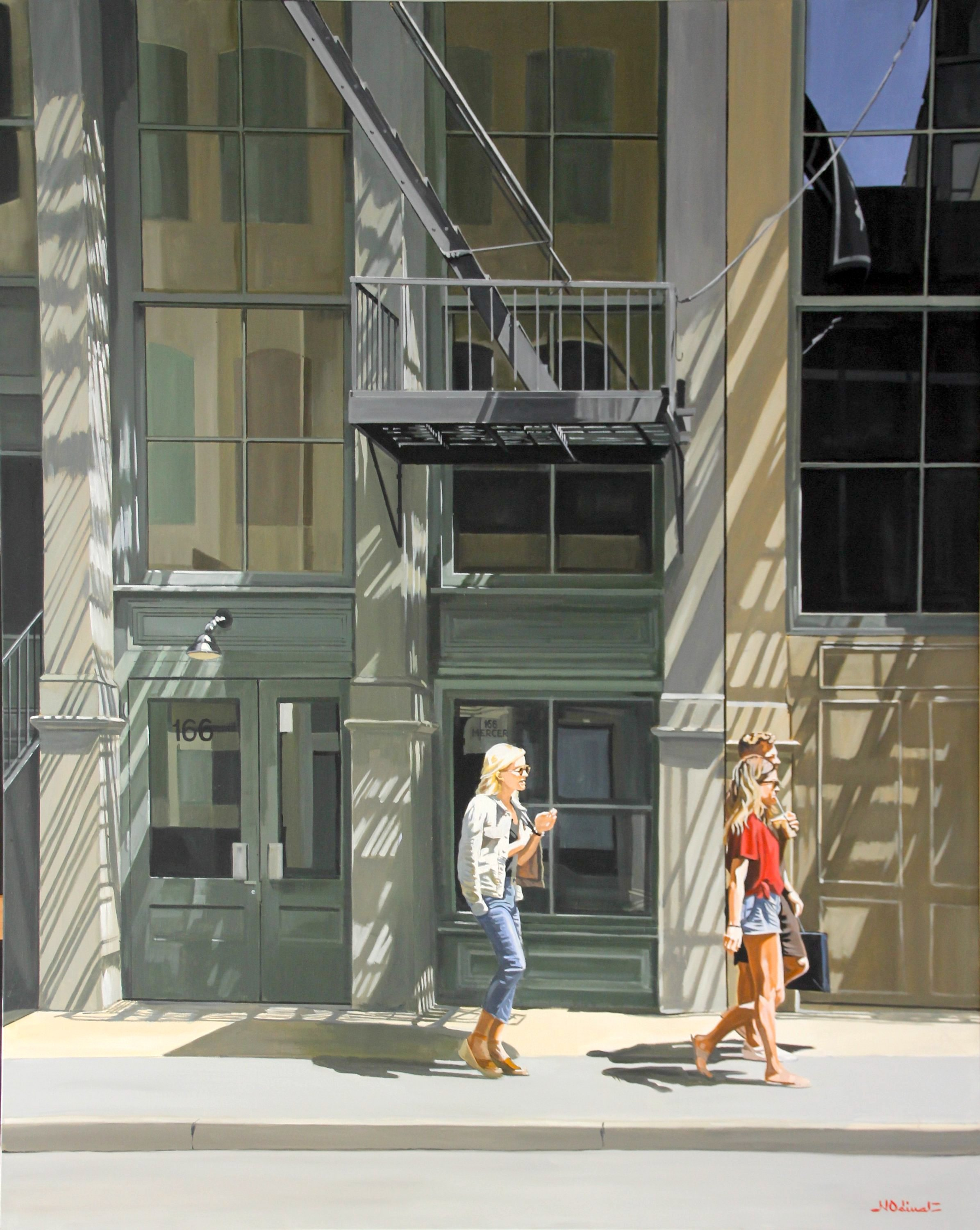 Nicolas Odinet - On the sunny side of Mercer Street